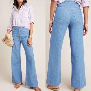 NWT Pilcro High Rise Wide Leg Jeans